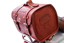 Leather Luggage Bag P07